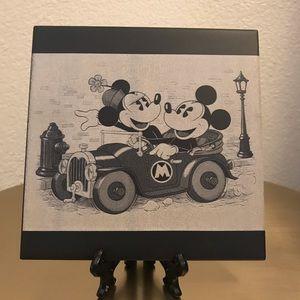 Mickey & mini mouse custom ceramic tile